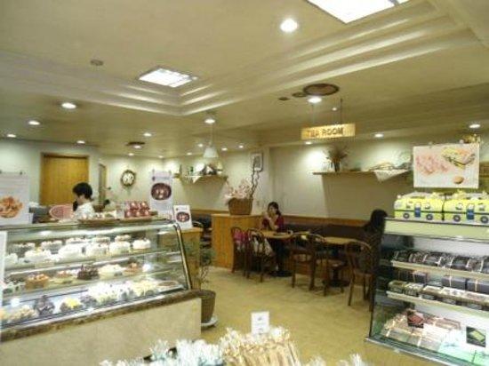 Ops Bakery Haeundae: The tea room