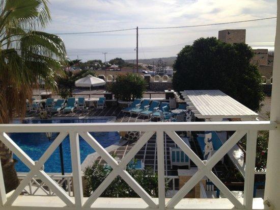 Hotel Golden Star : View from second floor balcony
