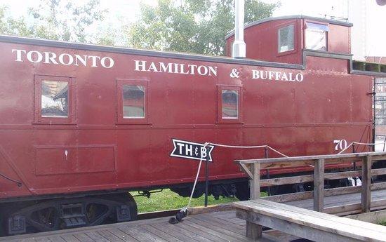 Toronto Railway Museum : The Toronto to Buffalo train