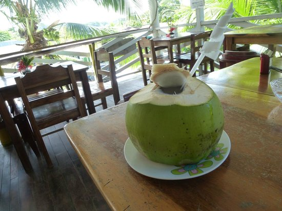 Veronica's Place : Coconut water