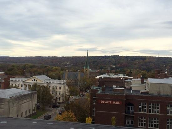 Hilton Garden Inn Ithaca: View from our room
