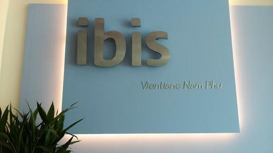 Ibis Vientiane Nam Phu Hotel: Brand new