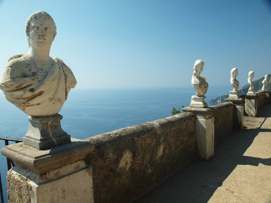 Hotel Parsifal Antico Convento del 1288 : View from Villa Cimbrone
