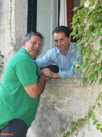 Hotel Parsifal Antico Convento del 1288 : Antonio with my brother