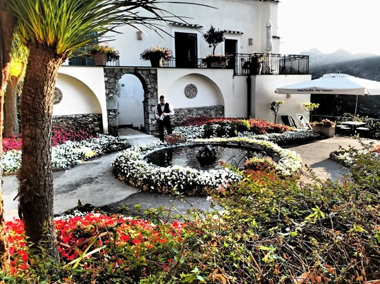 Hotel Parsifal Antico Convento del 1288 : Beautiful Hotel Parsifal Courtyard