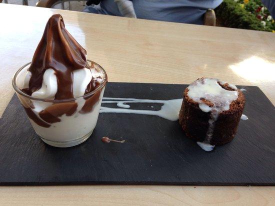 Verti'C : Brownie y yogurt