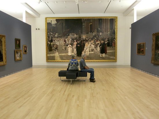 Museum of Wisconsin Art: Sit and look