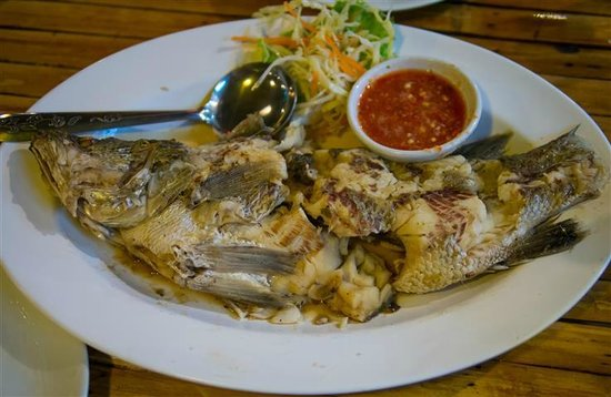 BAMBOO Restaurant: Cooked Fish
