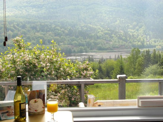Chanterelle Inn & Cottages: Beautiful view from the Cottage