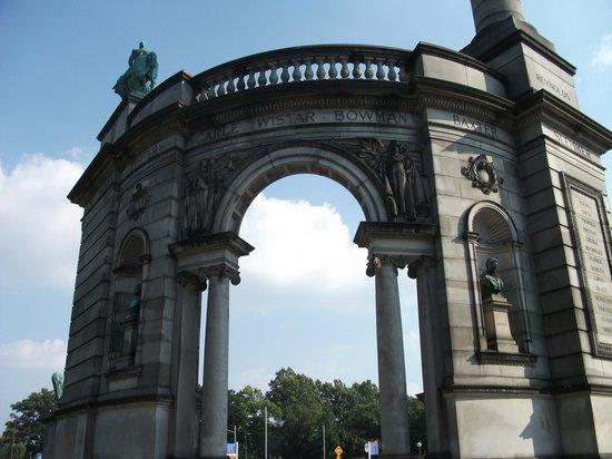 Fairmount Park: Civil War statue