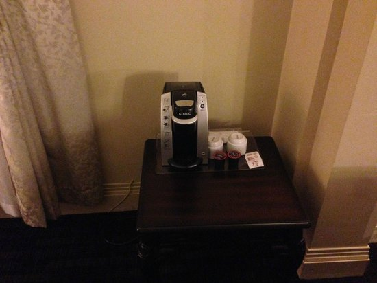 Hotel Clarendon : coffee machine