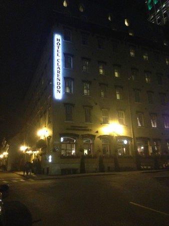 Hotel Clarendon: exterior