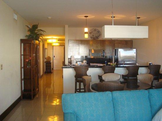 The Westin Dawn Beach Resort & Spa, St. Maarten : Westin condo interior