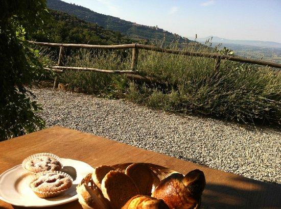 Locanda San Martino a Bocena : Breakfast view
