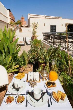 Riad Star: Roof Terrace