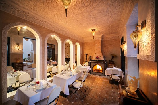 Riad Star: Dining Room