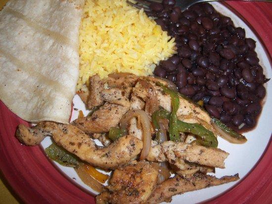 Catalina's Restaurant: Chicken Fajitas