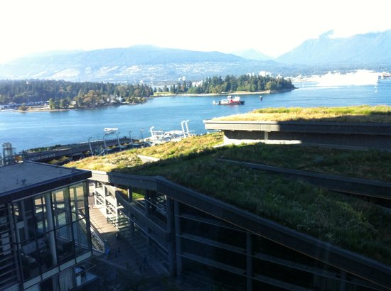 Fairmont Pacific Rim: View from level 15