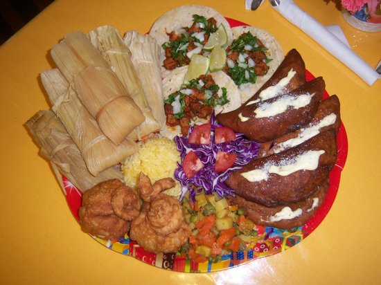 Catalina's Restaurant: A Special Holiday Platter.