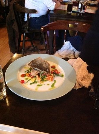 The Fatted Calf Restaurant: seabass
