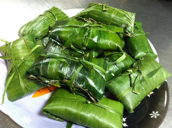 Catalina's Restaurant : Honduras Style Tamales.