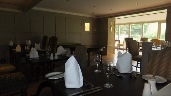 The Manor House Hotel: Main dining