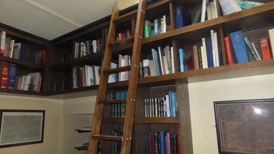The Manor House Hotel: Library