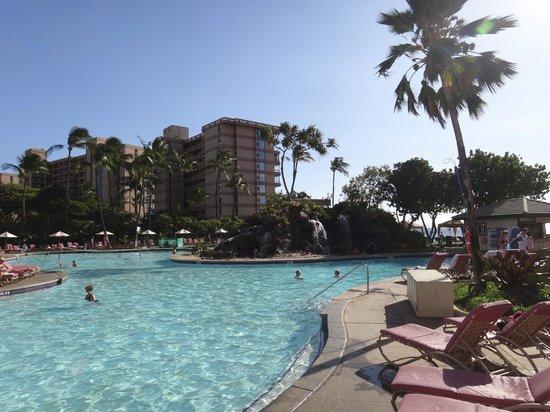 Ka'anapali Beach Club: Pool area