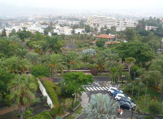 Hotel Tigaiga : Blick über den Hoteleingang nach Osten