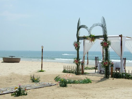 Bamboo Village Beach Resort & Spa: Все готово к бракосочетанию...