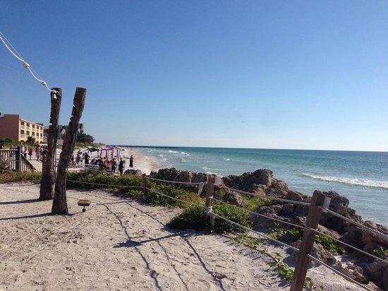 Beach House Restaurant: Spectacular views from the terrace