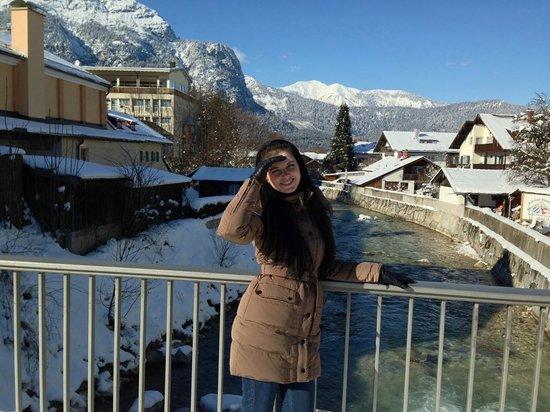 Dorint SportHotel : Гармиш зимой