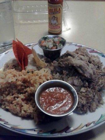 Brookfield's Restaurant: Carnitas dinner