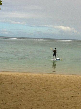 Shanti Maurice - A Nira Resort: Пляж и лагуна