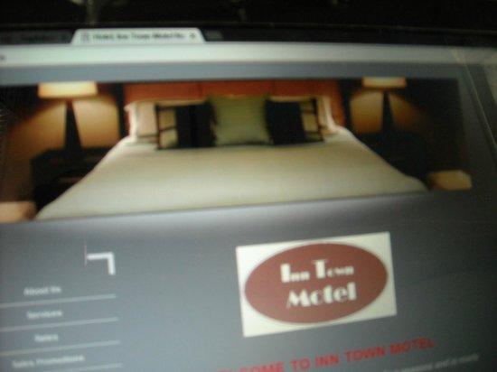 Inn Town Motel: The room on their website
