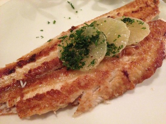 Cölln's Restaurant: Seezunge