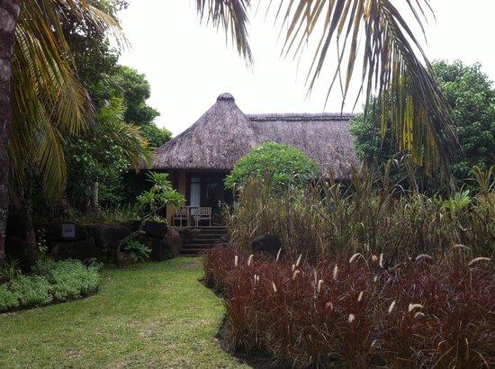 Shanti Maurice - A Nira Resort: Бункало с видом на океан