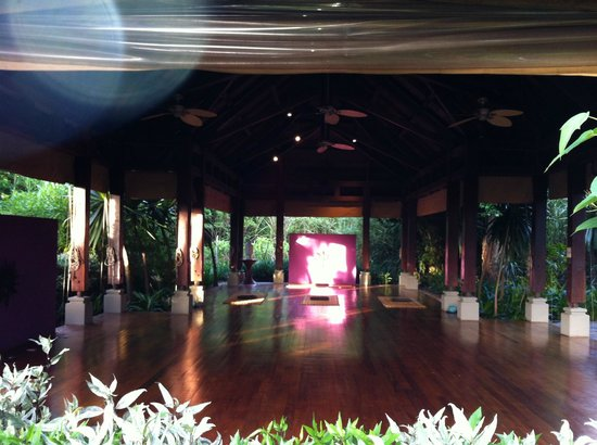 Shanti Maurice - A Nira Resort: Площадка для занятий йогой, пранайямой