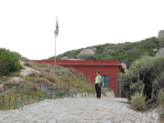 Punta Don Diego : Strada di accesso