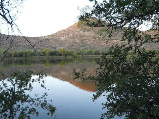 Patagonia Lake State Park: View from our campsite