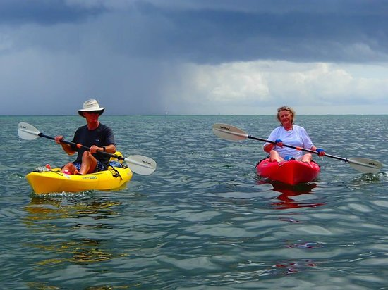 Conservation Kayak: OAPs outing!