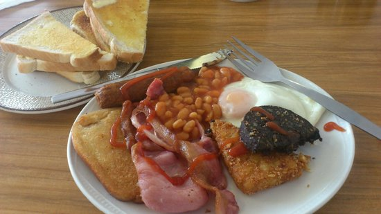 Bel's Kitchen: Lovely Breakfast including drink for only £4