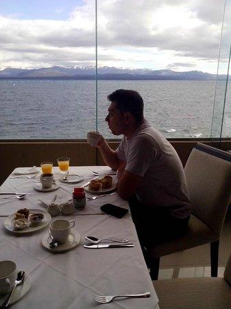 Alma del Lago Suites & Spa: El desayunador/restaurante
