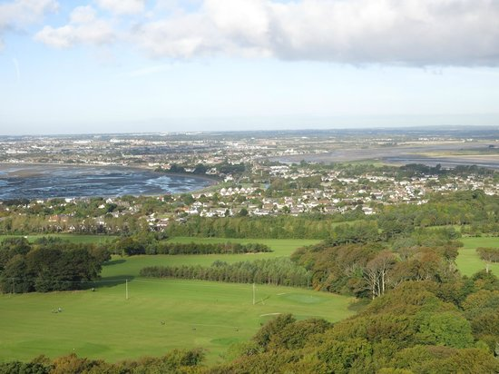 Deer Park Hotel Golf & Spa: View from the hill