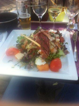 Brasserie des Dames : Salade Italienne