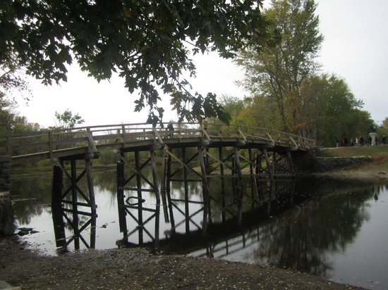 Minute Man National Historical Park: North Bridge Concord