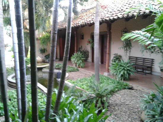 Hotel Los Robles: Jardin4