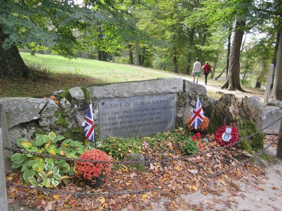 Minute Man National Historical Park: Memorial to British Soldiers
