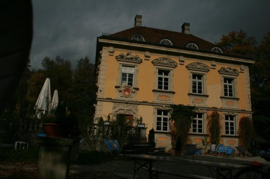 La Villa im Bamberger Haus: La Villa - Foto aus einem Strandkorb
