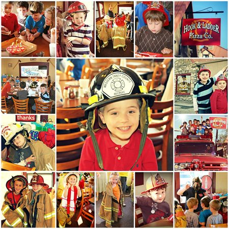 Hook and Ladder Pizza Co. : Birthday Parties!